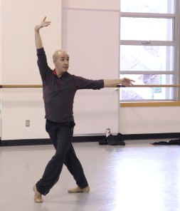 PNB ballet master Paul Gibson is choreographing a new work, Mozart Pieces.  (Photo © Lindsay Thomas)