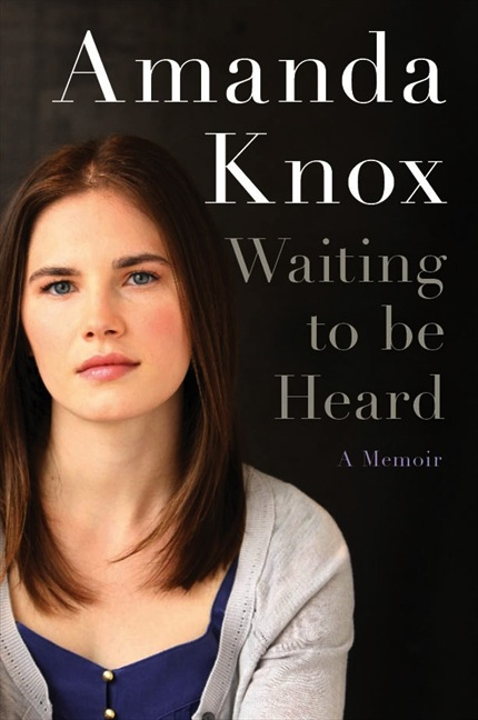 Knox's memoir, Waiting to be Heard, is due out April 30.