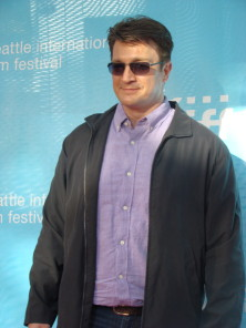 Got a crush on Firefly/Castle dreamboat Nathan Fillion? Here you go. You're welcome. (photo by Tony Kay)