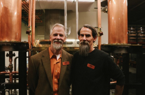 Beer-loving buddies Jason Parker and Micah Nutt. Photo via Curtis Simpson IV.