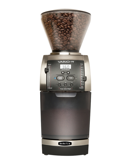 Good grounds from the Baratza Vario-W Grinder