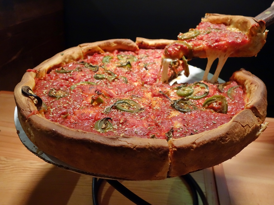 Deep-dish delight