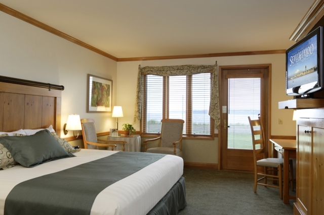 Guest room at Semiahmoo