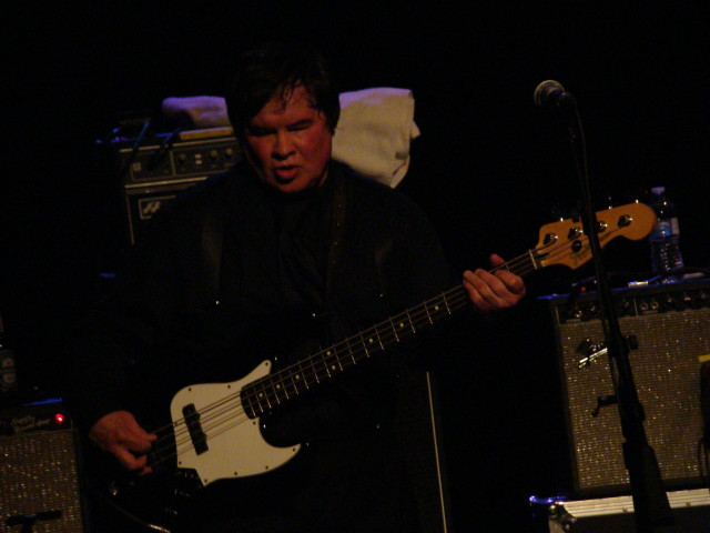 Freddie Dennis of The Sonics.