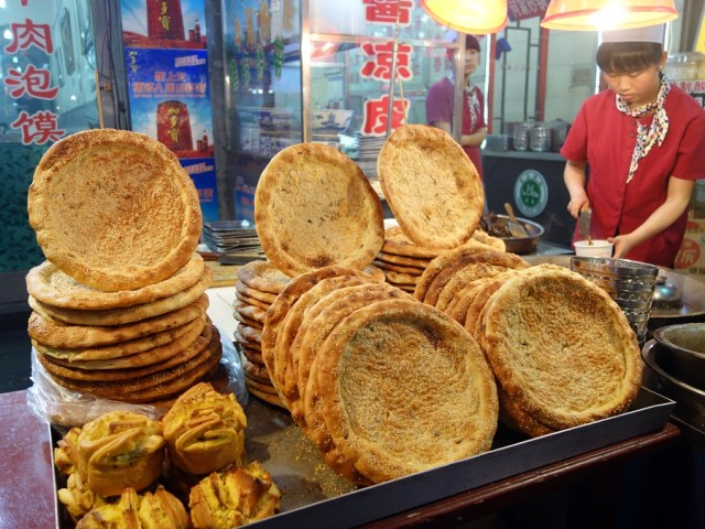 All kinds of interesting breads, many naan-like