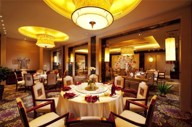 Dining room at the China Club restaurant in the Hilton Xi'an (photo courtesy of Hilton Xi'an)