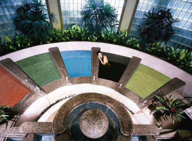 Hawaiian Salt Baths at Spa Grande (photo courtesy of Grand Wailea)