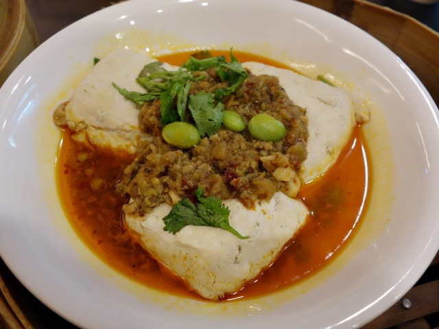 Hang Zhou's spicy stinky tofu