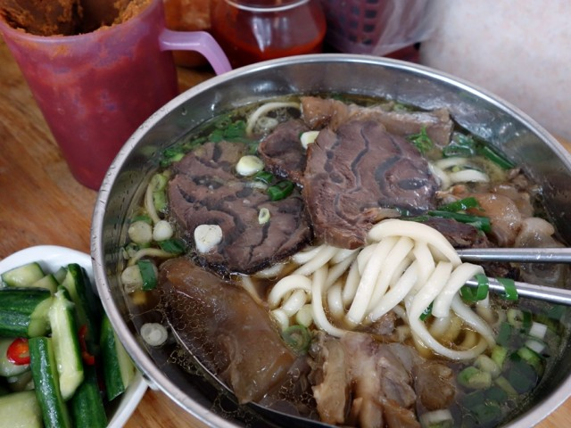 Beef noodle soup at Lin Dong Fang
