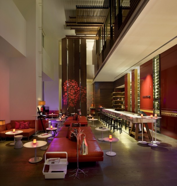 The WOOBAR at W Taipei beckons for a drink