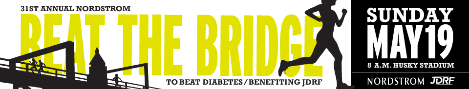 """""""Beat the Bridge"""" Diabetes Fun Run-Walk-Roll Hits Montlake Sunday"""