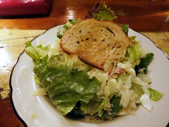 Joe Beef salad