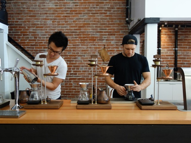 Timbertrain Coffee prep