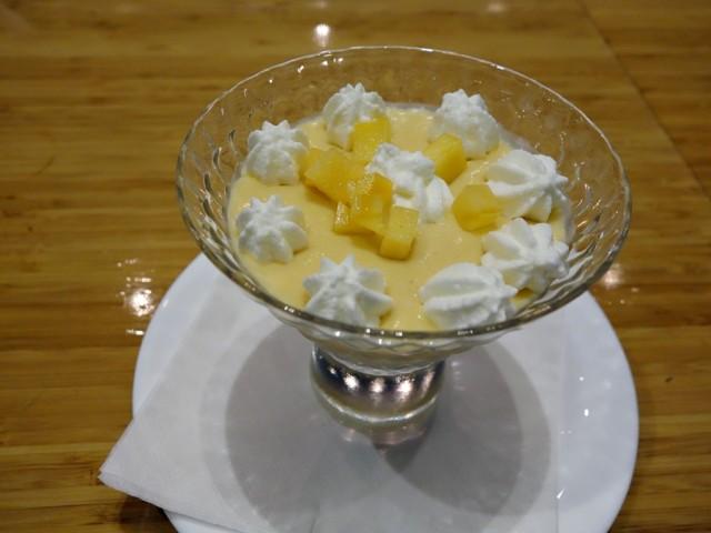 Tojo's persimmon mousse