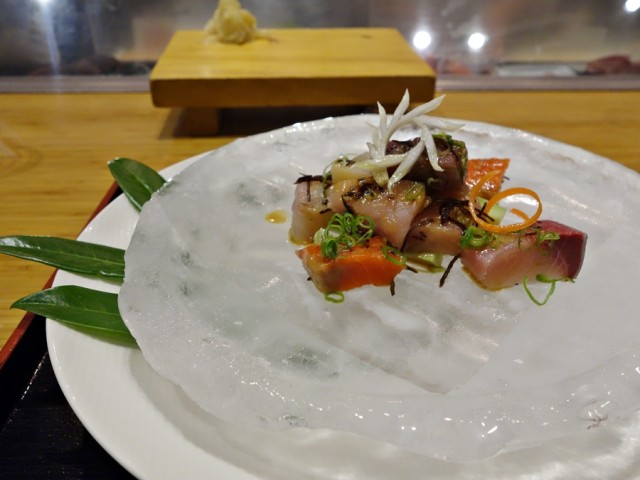 Tojo's sashimi