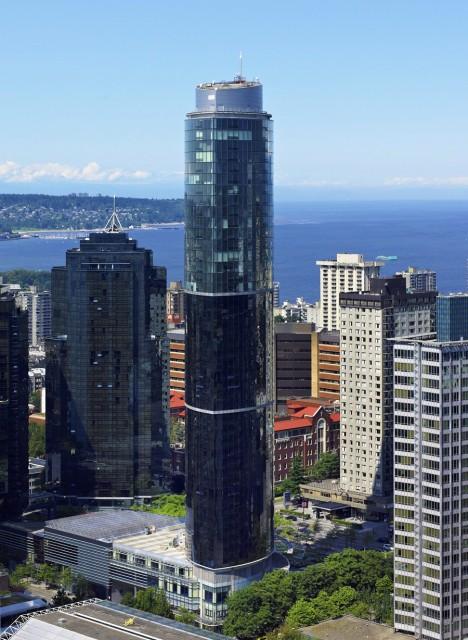 Wall Centre Sheraton Vancouver view