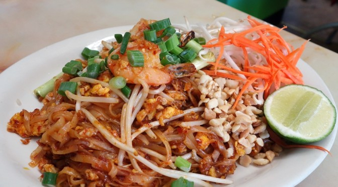 The Mein Man: Pad Thai (and Pleasant Peculiarities) at Song Phang Kong