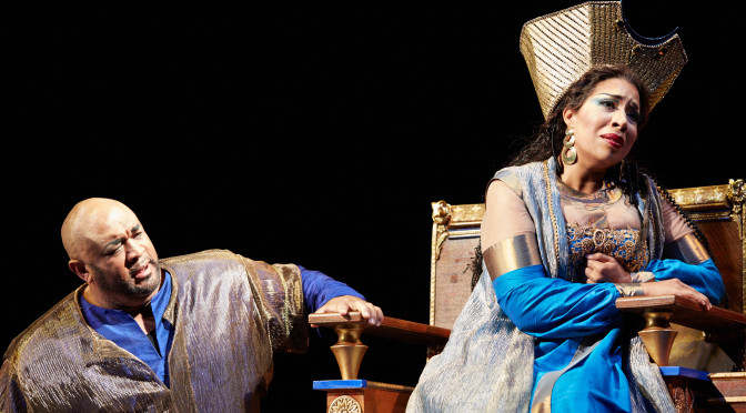 Seattle Opera's Full-Throated 'Nabucco' Powers Past its Awkward Staging
