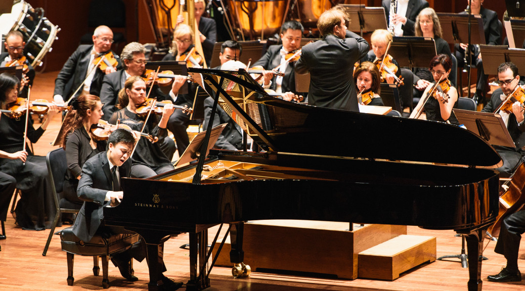 2015 Seattle Symphony Piano Competition winner Kevin Ahfat (Photo: Brandon Patoc)